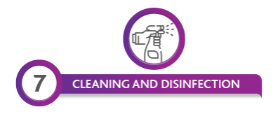 CLEANING AND DESINFECTION